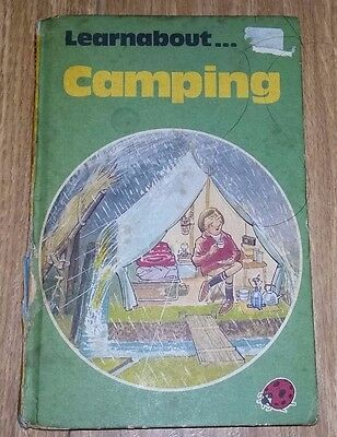 Ladybird Book - Learnabout Camping - Series 634