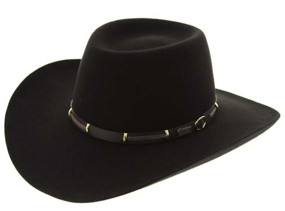 Akubra The Boss Western Felt Hat - Tanbark Brown