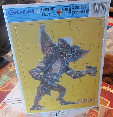 Gremlins vintage tray puzzle 1984 NEW SEALED