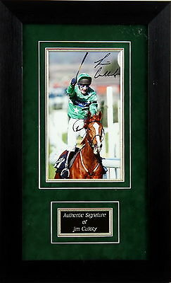 Jim Culloty Framed Signed Photo Display
