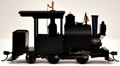 Bachmann On30 Scale Train Steam 0-4-2 Porter DCC Equipped Unlettered Black 28299