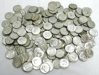 $1,000 Face (2,000 Halves) 1964 Kennedy 90% Silver Half Dollars - FREE shipping