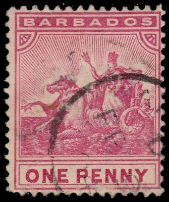BARBADOS 72 (SG107) - Badge of the Colony (pf17186)