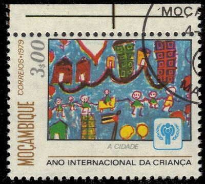 """MOZAMBIQUE 633 (Mi696) - Year of the Child """"City"""" (pa60850)"""