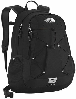 The North Face Black / White Backpack Day Pack Schoolbag Book Bag Jester New