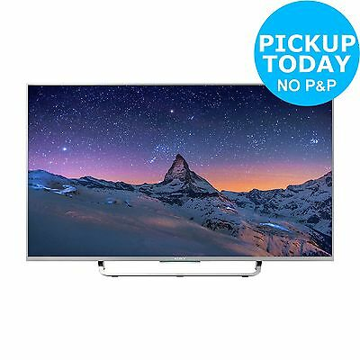Sony KD43X8307C 43 Inch 4K Ultra HD Freeview HD Smart WiFi LED TV - Silver:Argos