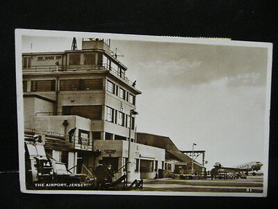THE AIRPORT JERSEY 1951 POSTED REAL PHOTO. No 51