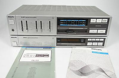 Philips Fa 153 Integrated Stereo Amplifier + Philips Ft 144 Tuner  +++