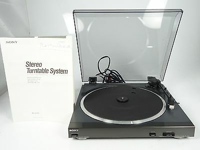 Sony Ps-D705 Fully Automatic Stereo Turntable Plattenspieler Topzustand +++