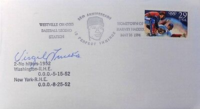 Virgil Trucks Pittsburgh Pirates Signed No Hitter First Day Cover