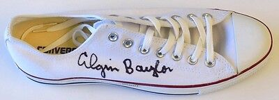 Elgin Baylor Los Angeles Lakers Signed Right Converse Shoe UDA