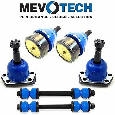 GMC Pair Set of 2 Front Lower & Upper Ball Joints & Sway Bar Link Kits Mevotech