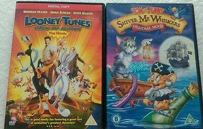 Looney tunes and Tom and Jerry DVDs