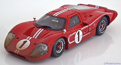 1:18 Shelby Col. Ford GT40 MK4 Winner Le Mans 1967 Dirt Look