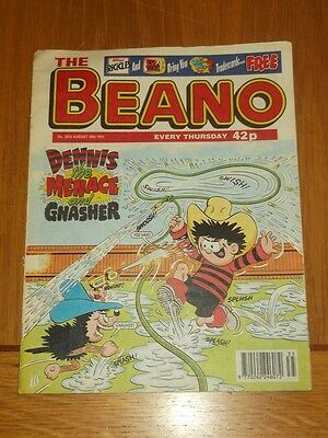 Beano #2876 30Th August 1997 British Weekly