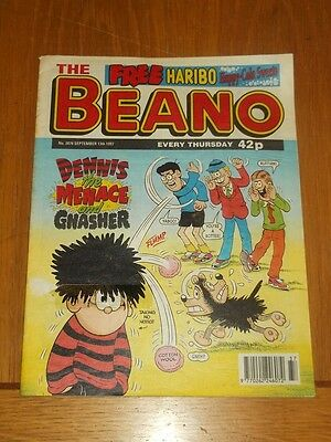 Beano #2878 13Th September 1997 British Weekly