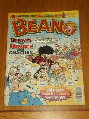 Beano #2934 10Th October 1998 British Weekly