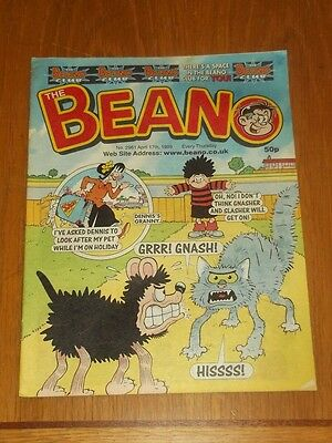 Beano #2961 17Th April 1999 British Weekly