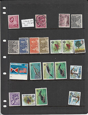 Seychelles. Most MNH/Used One MH. High Cat.