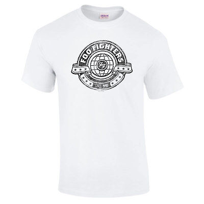 Foo Fighters Seal Dave Grohl Sonic Highways Unisex T-Shirt up to XXL 11E