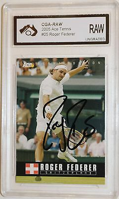 2005 Ace IP Signed Roger Federer with COA
