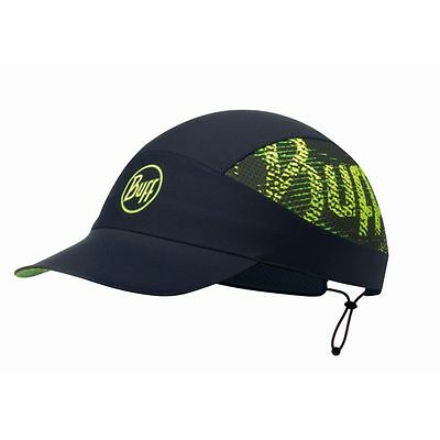 Buff Pack Run Cap R-Flash Logo Black Schildmütze schwarz