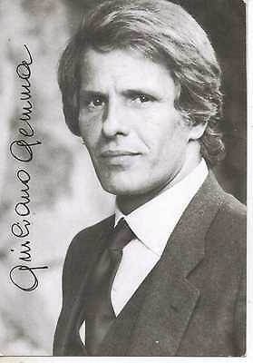 Giuliano Gemma Autographed  Picture  - Ex Condition 6X4. (Hand Signed)