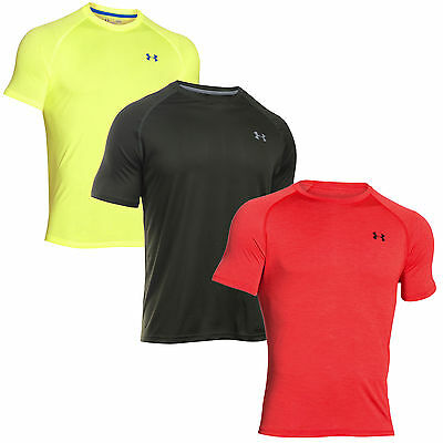 Under Armour Tech SS 1228539 Camiseta para correr de hombres Loose Fit