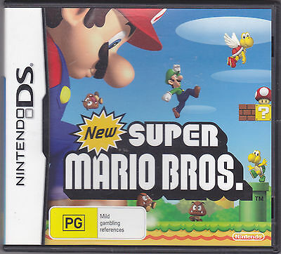 Nintendo DS Game : New Super Mario Bros