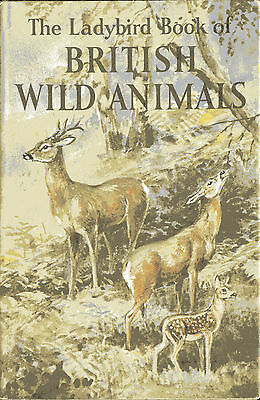 Ladybird Book Series 536 BRITISH WILD ANIMALS by Cansdale illustrated Green