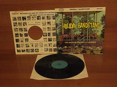 The Band Of The Welsh Guards : HOLIDAY BANDSTAND : Vinyl Album : WLP 6058