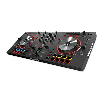 Numark Mixtrack III 2-Channel DJ Controller With Virtual DJ LE, 16 Performance P