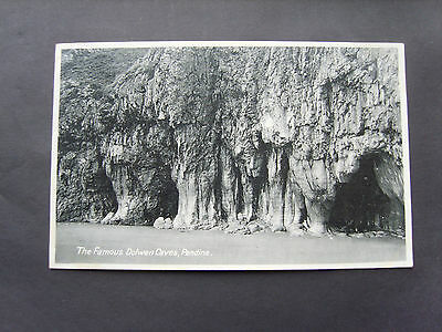 Carmarthenshire: The Famous Dolwen Caves, Pendine  - Printed - Unposted