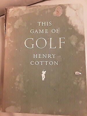 this game of golf henry cotton 1949