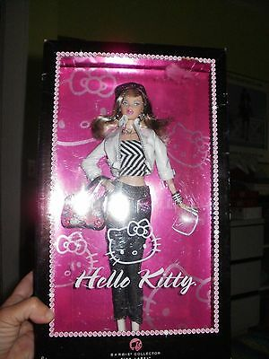 HELLO KITTY BARBIE DOLL 2007 Mattel PINK Label Collector NEW IN BOX never opened