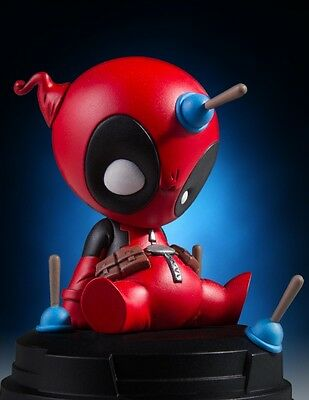Gentle Giant Animated Baby Deadpool Statuette Skottie Young Statue ~Brand New~