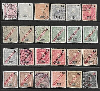 MOZAMBIQUE 1894-1915 King Carlos I Mint and Used Issues Selection (Feb 0057)
