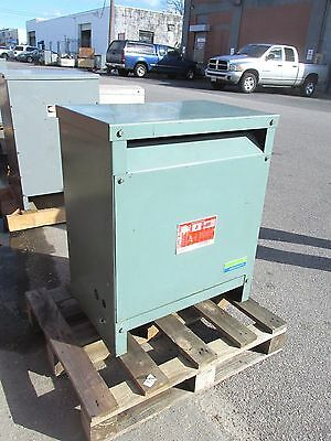 HEVI-DUTY Three Phase Dry Type Transformer 30 kva, 208 Delta .. OD-439