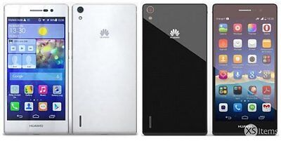 Brand New Sealed Huawei Ascend P7 16GB Unlocked Black-White Android Smartphone