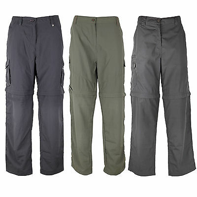 Regatta womens hiking pants Outdoor Trousers Zip Off Pant removable Trousers