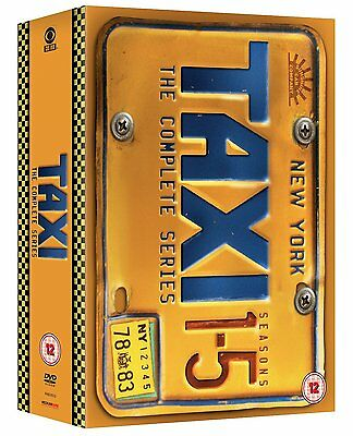 Taxi Box Set Complete Series Seasons 1-5 New Sealed DVD Region 2 PAL (Not US)