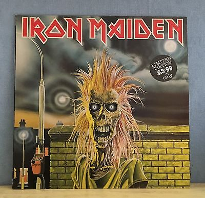 IRON MAIDEN Iron Maiden 1980 UK Vinyl LP EXCELLENT CONDITION first debut A1/B1