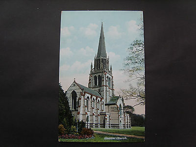 Nottinghamshire:  Clumber Church - Printed - Unposted