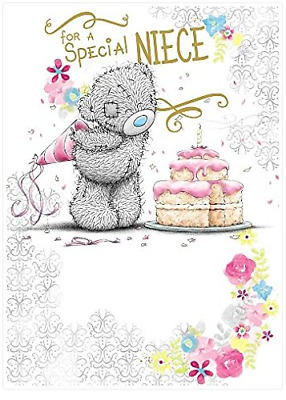 Me To You For A Special Niece Birthday Card Tatty Teddy Bear New Gift