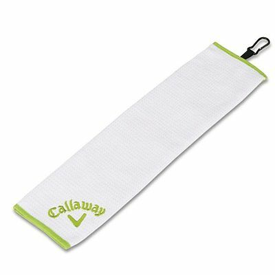 Callaway Golf Solaire Tri-Fold Lime Towel