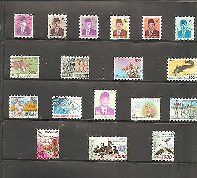 Collection Of   18  Indonesia    Fine Used   Stamps (B )