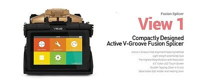 Inno View 1 Active V Groove Clad Alignment Fusion Splicer Kit New