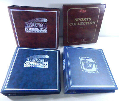 Lot of (2) USED Basketball Albums (1) Baseball Album (1) Sports Collection Album