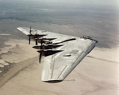 Northrop B-35 Flying Wing Aircraft 8x10 Silver Halide Photo Print