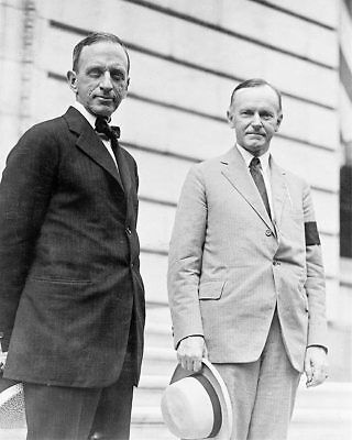 Calvin Coolidge & Edward T. Clark Portrait 8x10 Silver Halide Photo Print